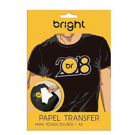 Papel Transfer Dark - Tecidos Escuros - Bright ou Similar - C/ 5 folhas