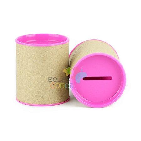 Mini Cofrinho 7x6 Pink - Kit c/ 10 unidades