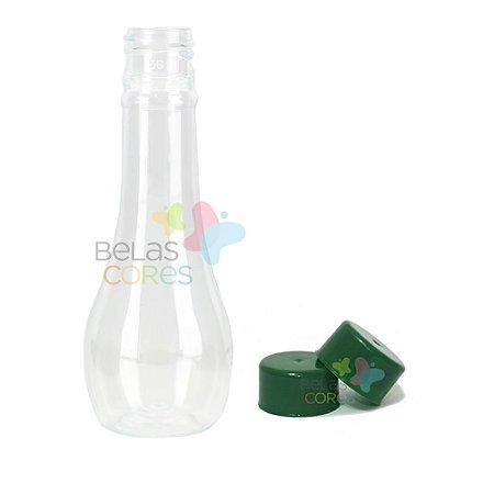 Mini Garrafinha Acquíssima 60 ML -Tampa Verde Bandeira - c/ 10 unidades