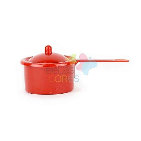 Panelinha Plástica Para Brigadeiro - Vermelha - Kit c/ 20 unidades