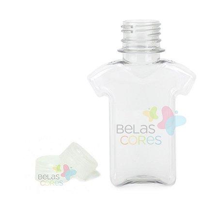 Tubete/Baleiro Pet Camisetinha 120 ml Tampa Transparente - 10 unidades