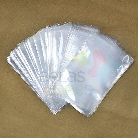Saco Celofane 10x15 cm - 100 unidades