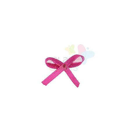 Mini Lacinho de Cetim Mosquitinho Pink - 100 unidades