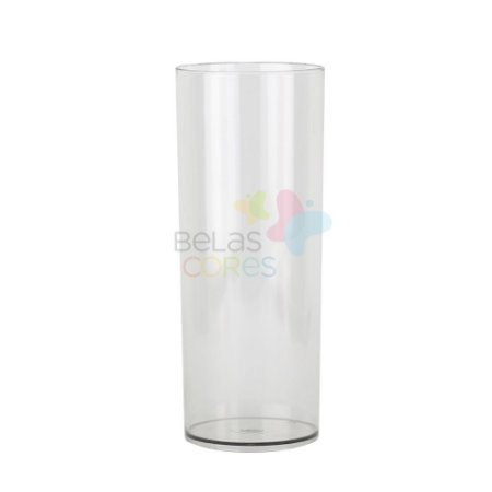 Copo Long Drink 350ml Transparente - 15 unidades