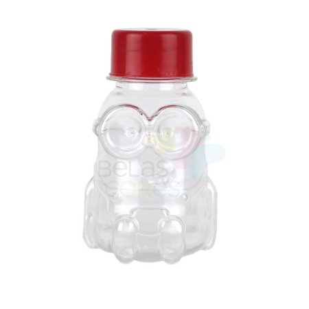 Tubete/Baleiro Minions PET 70 ml - Kit c/ 10