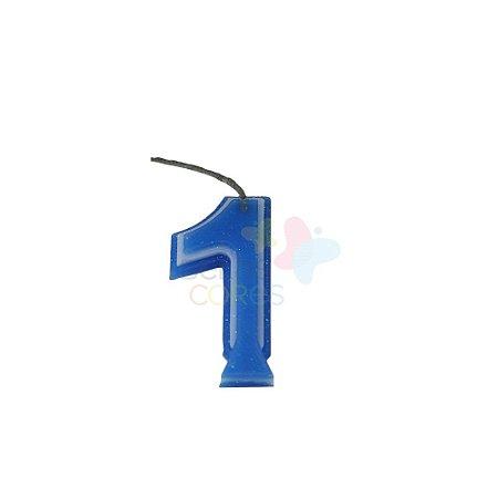 Velas de Aniversário - Numero 1