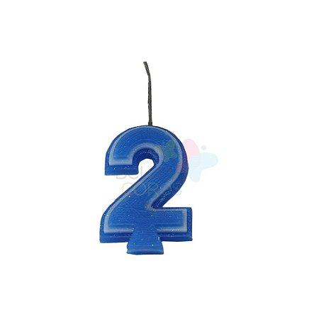 Velas de Aniversário - Numero 2