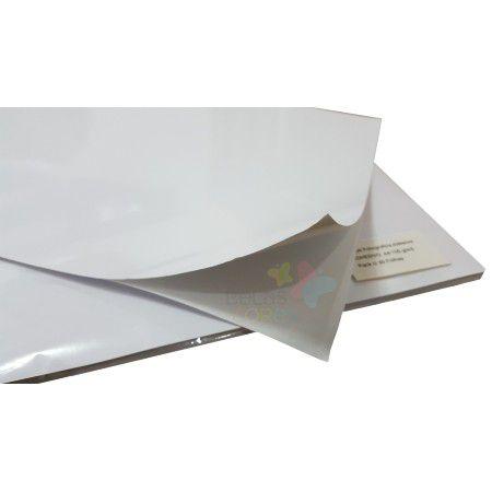 Papel Fotográfico Adesivo Glossy A4 115g - Brilhoso - 1000 folhas