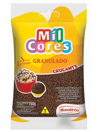 Granulado Crocante Sabor Chocolate