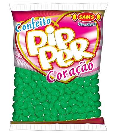 Balinhas Confeito Coração Pipper Limão 500g