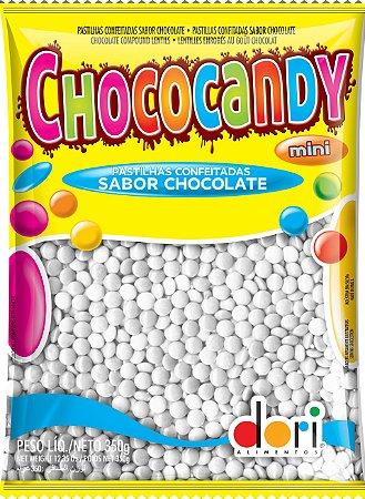 Chococandy Mini  Pastilhas Confeitadas Branco Sabor Chocolate Dori