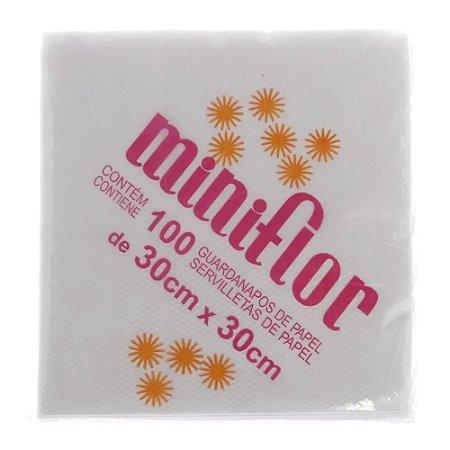 Guardanapo de Papel Miniflor - 30x30 cm c/ 50 folhas