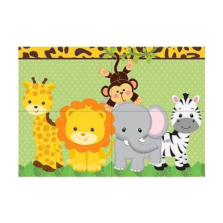 Painel de Festa Decorativo Safari - 1 Unidade