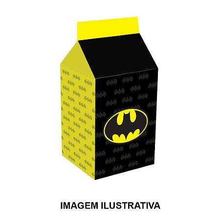 5 Caixinhas Milk Batman Geek Para Lembrancinha