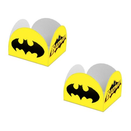 20 Forminhas de Doces Caixeta Batman Geek