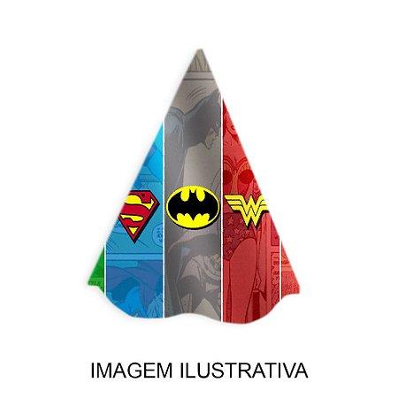 5 Chapéus de Festa Liga da Justiça
