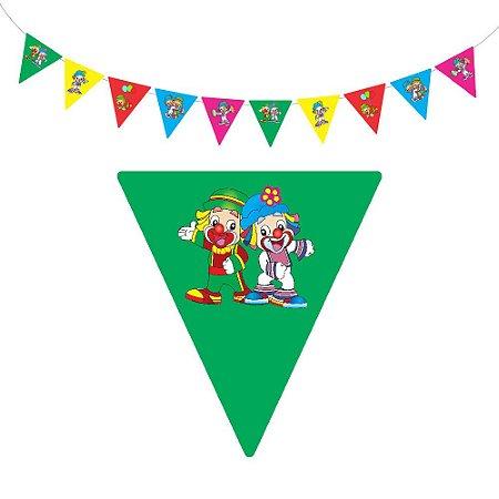 10 Bandeirolas Triangular Patati Patatá