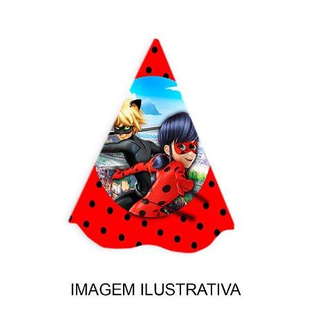 5 Chapéus de Festa Ladybug Miraculous