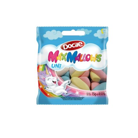 Maxmallows Marshmallow Twist Colorido Unicórnio Docile 15g