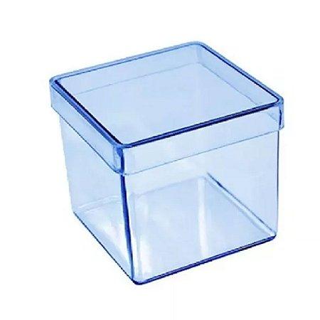 10 Caixinhas Acrílicas 4x4 - Azul
