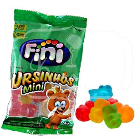 Fini Mini Ursinhos Bala Gelatina 15g - 1 Unidade