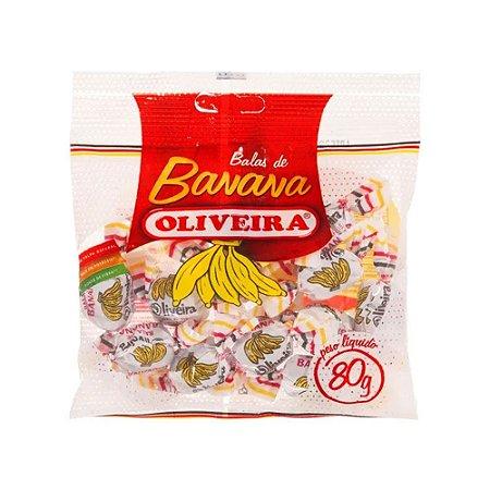 Bala de Banana Oliveira - 80g