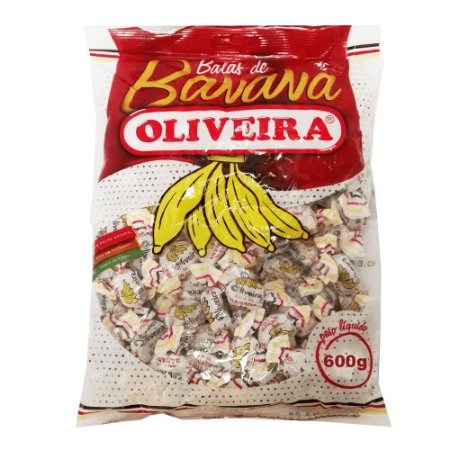 Bala de Banana Oliveira - 600g