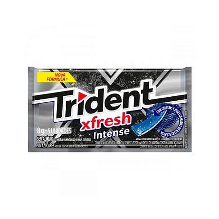 Chiclete Trident Xfresh Intense - 1 Unidade