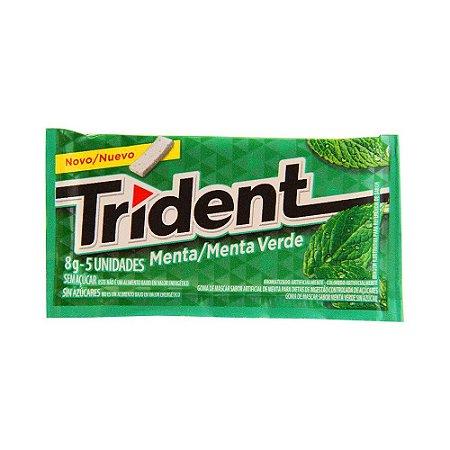 Chiclete Trident Menta Verde - 1 Unidade