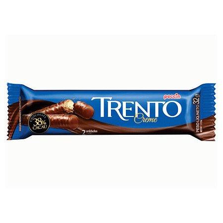 Chocolate Trento Recheado Sabor Creme com 2 Unidades