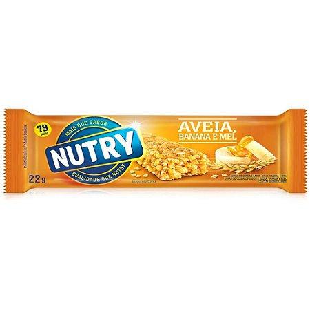 Barrinha de Cereal Nutry Sabor Aveia Banana e Mel 22g - 1 Unidade