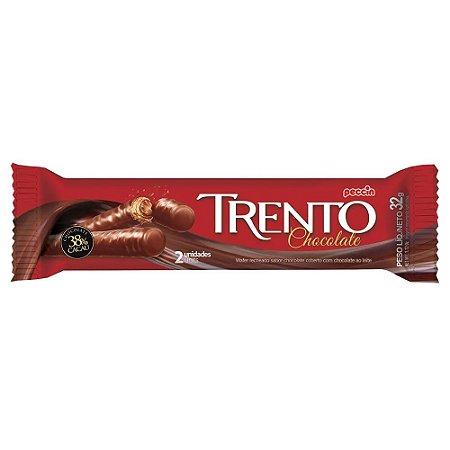 Chocolate Trento Recheado Sabor Chocolate com 2 Unidades