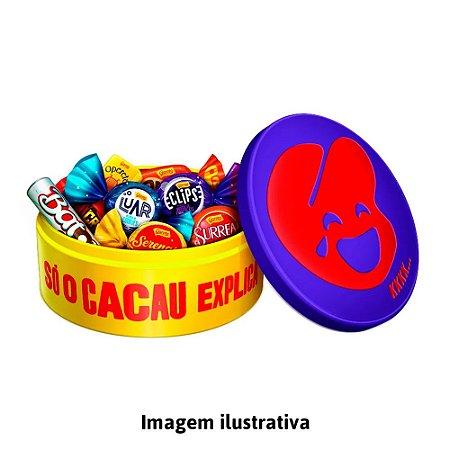Lata Garoto Bombons Sortidos Só o Cacau Explica  -  219,1g