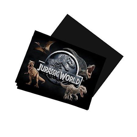 4 Imãs de Geladeira Jurassic World 105x148mm