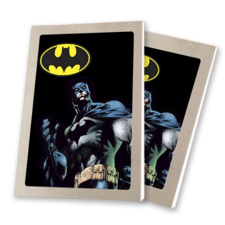 5 Bloquinhos de Papel 25 Folhas Batman Geek 10,5x7,5cm