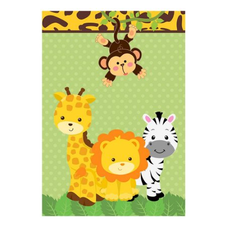 Poster Safari 30x43 - 1 Unidade