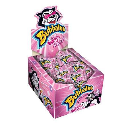 Chiclete Bubbaloo Tutti Frutti - Caixa com 60 Unidades