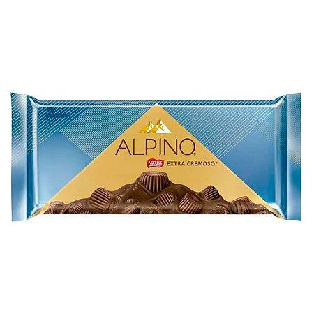Barra de Chocolate Alpino Extra Cremoso 98g
