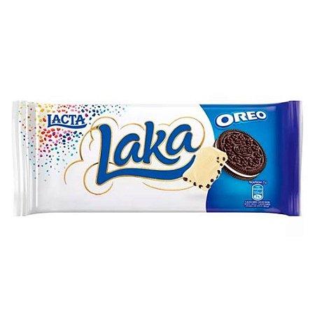 Barra de Chocolate Laka Oreo Lacta 90g