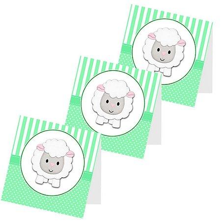 12 Capas de Pirulito Chá de Bebê Verde