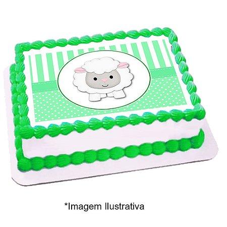Papel de Arroz Chá de Bebê Verde 28x20cm - 1 Unidade