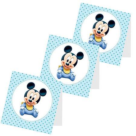 12 Capas de Pirulito Mickey Baby