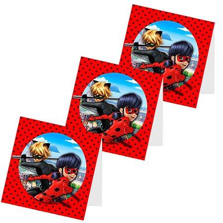 12 Capas de Pirulito Ladybug Miraculous