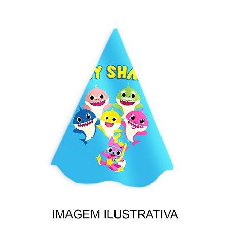 5 Chapéus de Festa Baby Shark