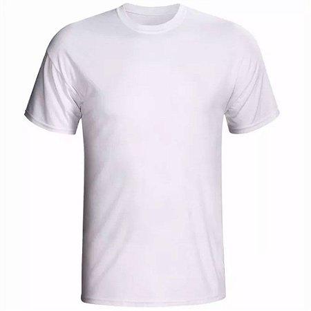 Camiseta Branca 100% Algodão Toque de Pêssego (Fabricação Hollister)