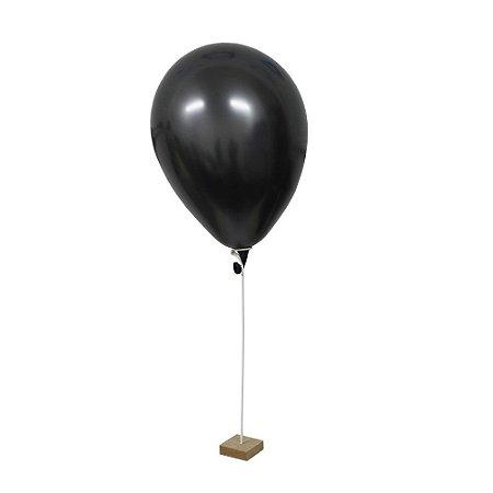 Suporte para Balão 1 Haste e Base - 1 Unidade