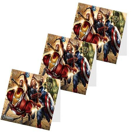 12 Capas de Pirulito Vingadores