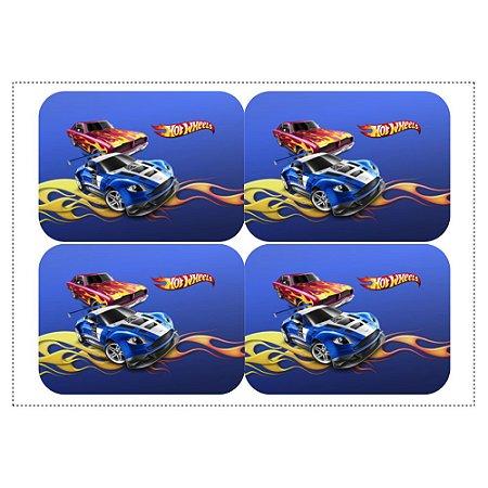 12 Adesivos Hot Wheels para Marmitinha 240ml
