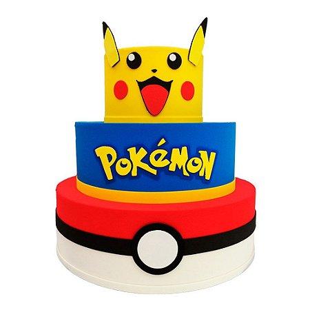 Bolo Fake Decorativo Pokémon