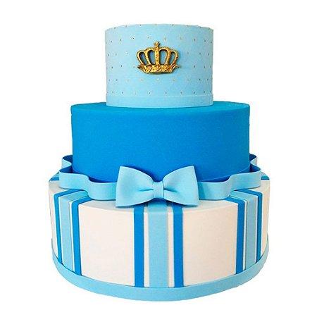 Bolo Fake Decorativo Príncipe Azul